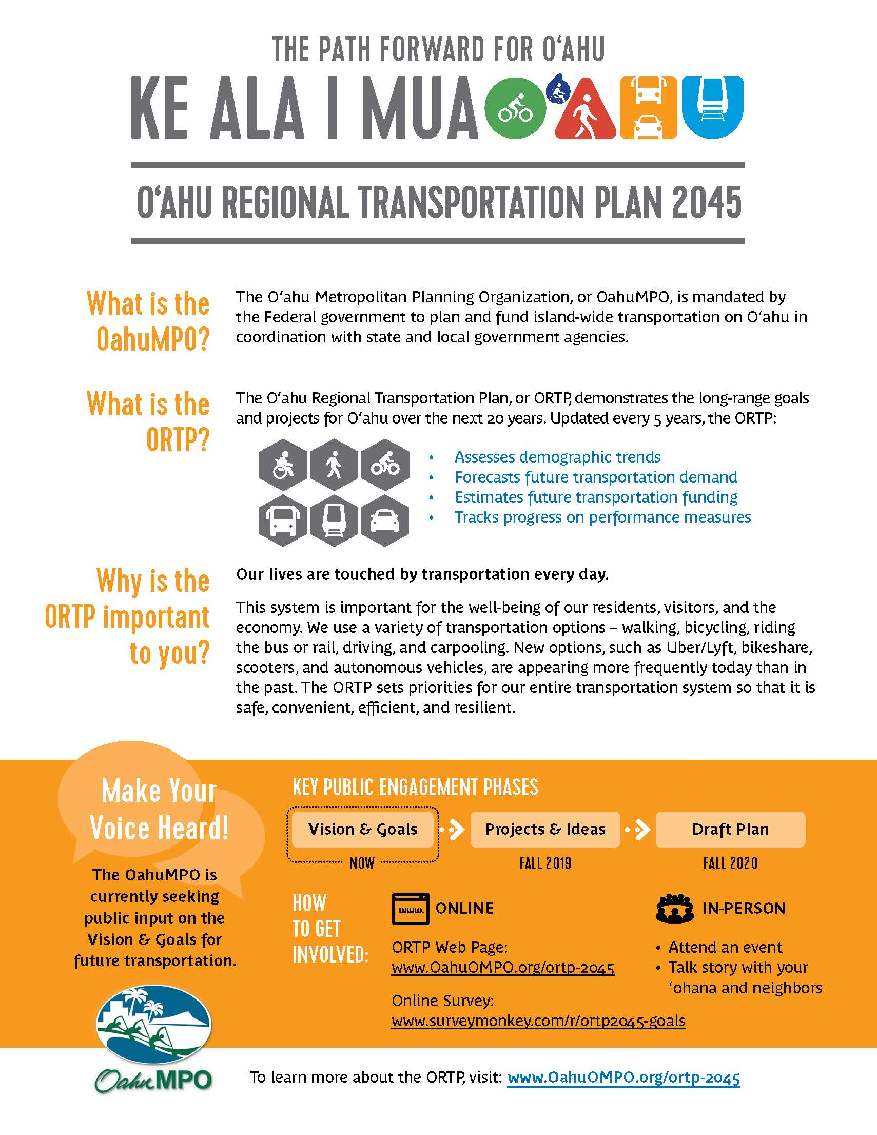 3187ca5be4 Oahu Regional Transportation Plan (ORTP)